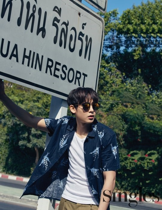 2PMs Nichkhun Shares Passion for Acting and Golf in Singles