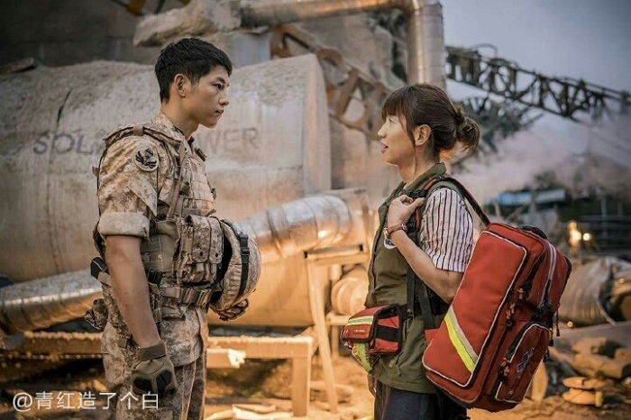 Lee kwang soo is a natural female lead in descendants of - Descendants of the sun wallpaper hd ...
