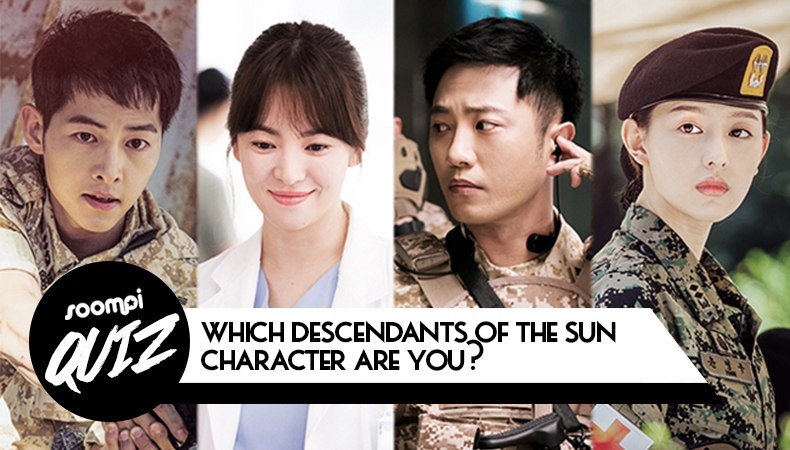 soompi quiz which descendants of the sun character are you