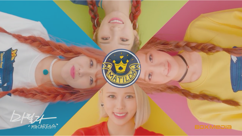 Watch: New Girl Organization Matilda Makes Their Debut With Macarena