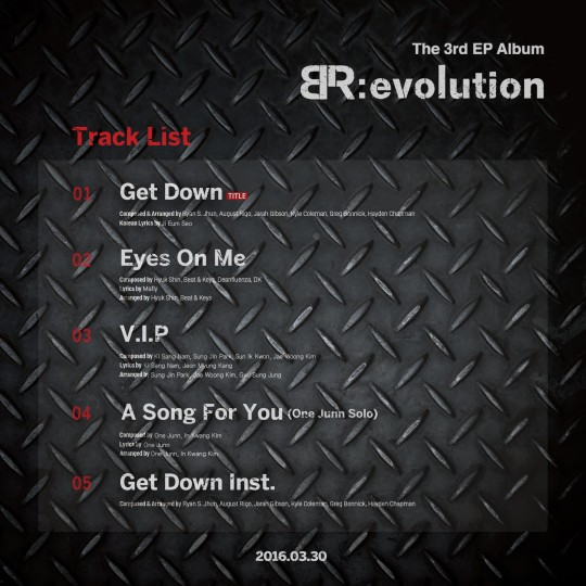 boys republic br evolution track list eng