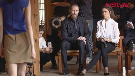 Victoria Beckham Compliments Korean Womens Sense of Style
