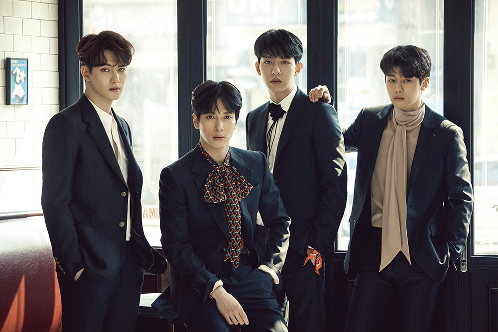 CNBLUE Drops First Teaser Image for Comeback With Blueming