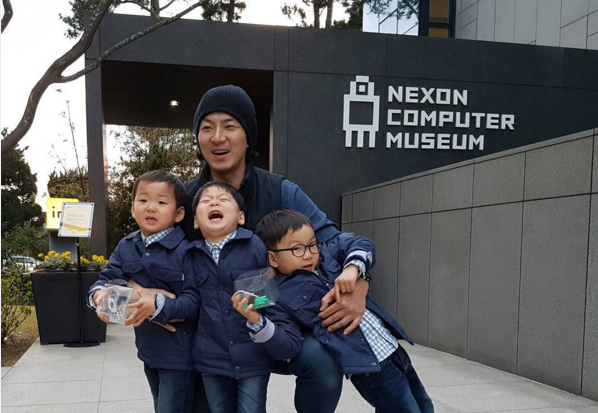 Song Il Gook Updates Fans Through Vacation Photo With Triplets