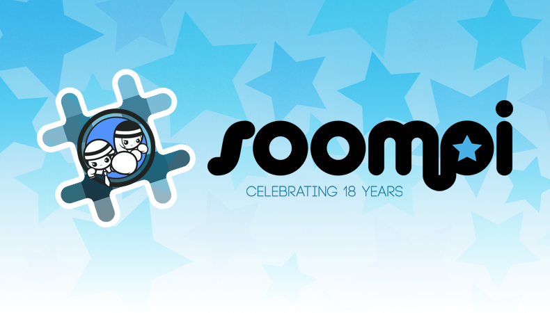 Celebrate Soompis 18th Birthday with a Chatroom, Shoutouts, and a Giveaway!