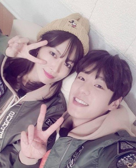 Kim So Yeon and Kwak Si Yang Leaving We Got Married
