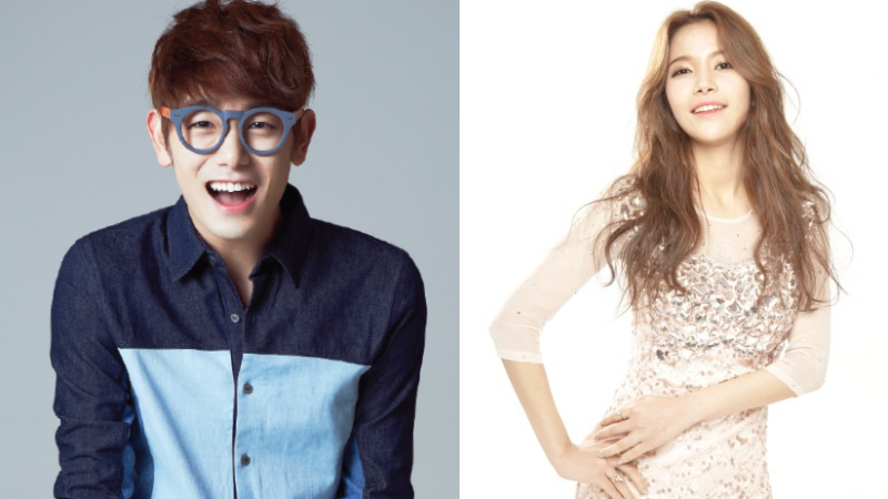 "Eric Nam and MAMAMOO's Solar Spotted Filming First Date as Newest Couple on ""We Got Married"""