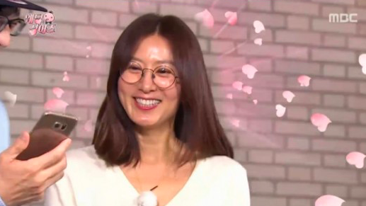 "Actress Kim Hee Ae Exhibits High School Photo on ""Infinite Challenge"""
