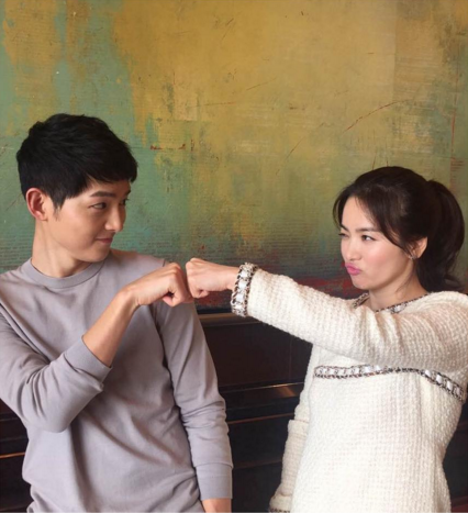 Song Joong Ki and Song Hye Kyo Rank Top For Brand Power Among Actors