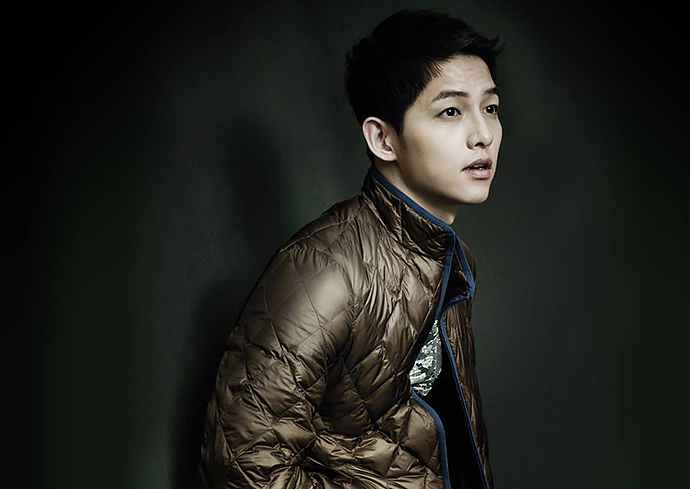 Song Joong Ki Spotted Filming Chinese Running Man