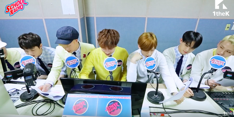 "Watch: BTOB Makes Surprise Visit to High School on ""School Radio"""