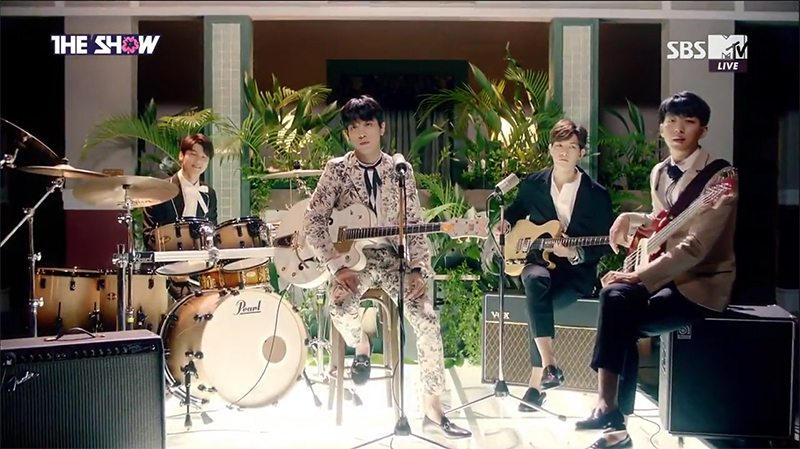 CNBLUE Gets First Win for Youre So Fine on The Show Performances by GOT7, Eric Nam and More