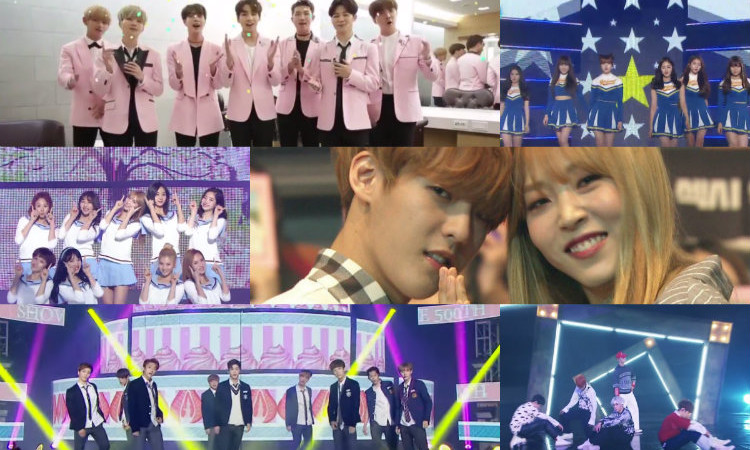 Watch: K-Pop Idols Swap Songs and Sing Medleys of Hits for Special Music Core Episode