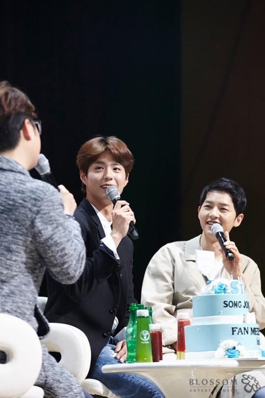 song joong ki fan meeting 2