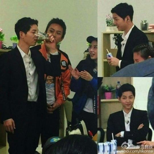 Song Joong Ki Spotted Filming Chinese Running Man