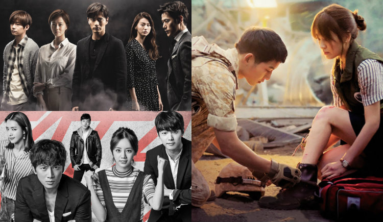 Descendants of the Sun Remains on Top of Ratings Despite Amid Premiere of Entertainers