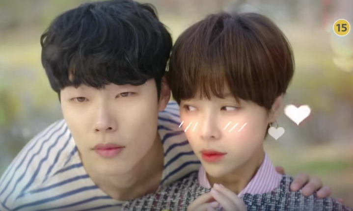 Watch: Hwang Jung Eum and Ryu Jun Yeol Show Sweet Chemistry in New Lucky Romance Teaser