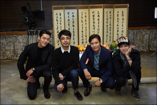 Lee Byung Hun, Kang Dong Won, and Kim Woo Bin Begin Filming New Crime-Action Movie