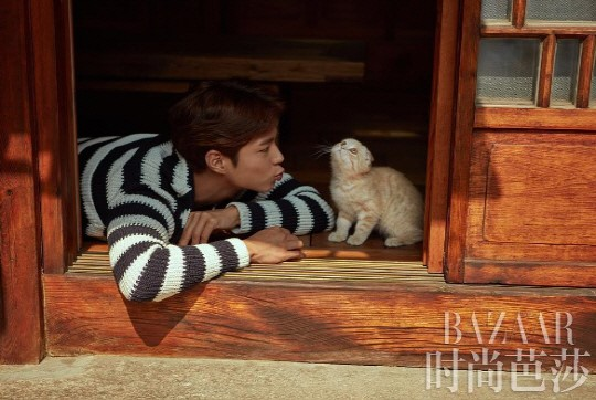 Park Bo Gum Displays His Closest Actor Guests With Bazaar China