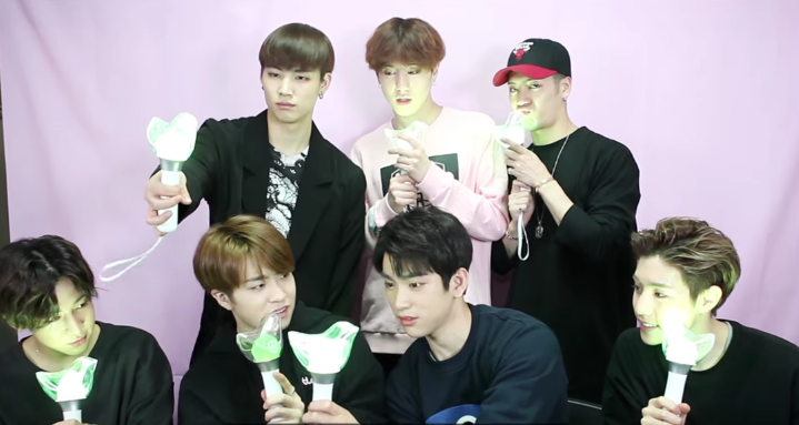 GOT7 Reveals Adorable Official Light Stick!