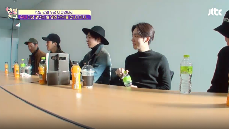 WINNER Reflects on Their Challenging Trainee Days on Half-Moon Friends