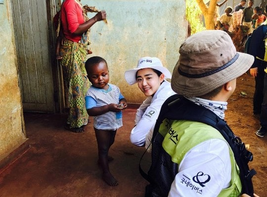 Moon Geun Young Reflects on Life After Volunteer Ride to Africa