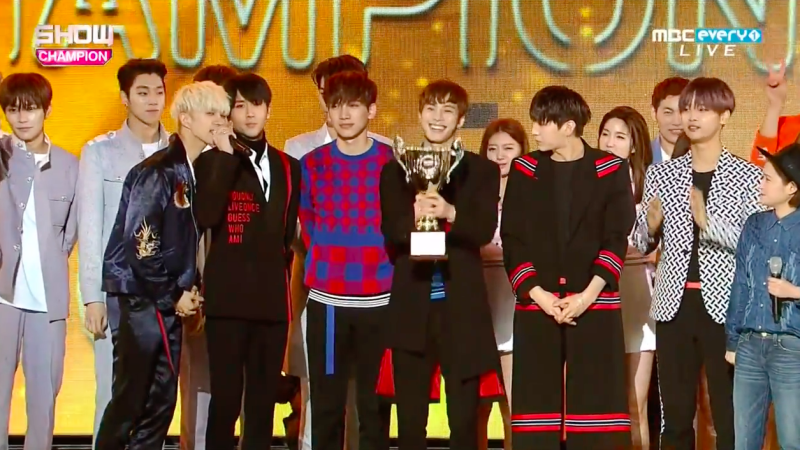 "VIXX Takes 2nd Trophy For ""Dynamite"" On ""Show Champion,"" Performances By Yesung, Jung Eun Ji, NCT U, And More"