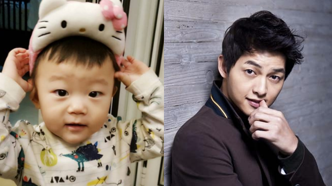 Daebak's Mom Compares Him To A Young Song Joong Ki With Photos