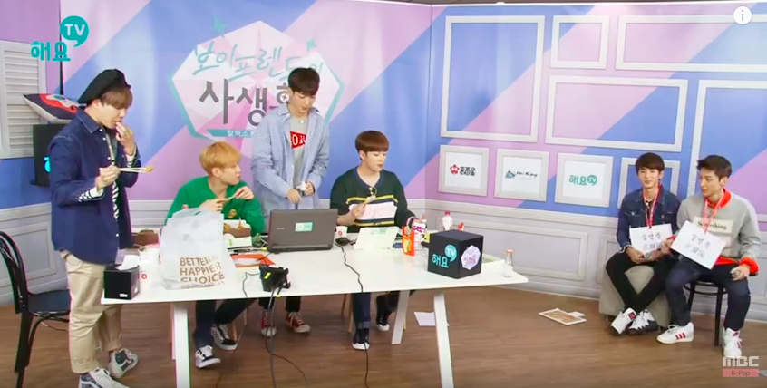 "Watch: Boyfriend's K-Pop Covers of Zion.T, TWICE, Lovelyz, BIGBANG, and ""Pick Me"""