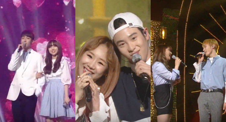 Watch: Duets From Members of Block B, Seventeen, NCT U, TWICE, Lovelyz, and U Sung Eun