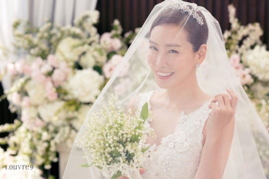 Kim Jung Eun Is A Stunning April Bride In Her Wedding Photos