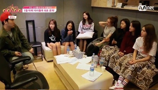 "Watch: I.O.I Prepares For Their Official Debut And Records Debut Song In ""Standby I.O.I"""