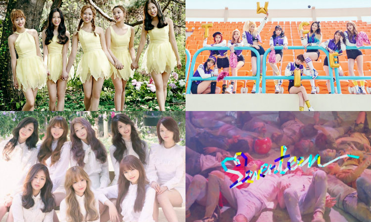 "Watch: SEVENTEEN, TWICE, Lovelyz, April, And More On ""Music Core"""