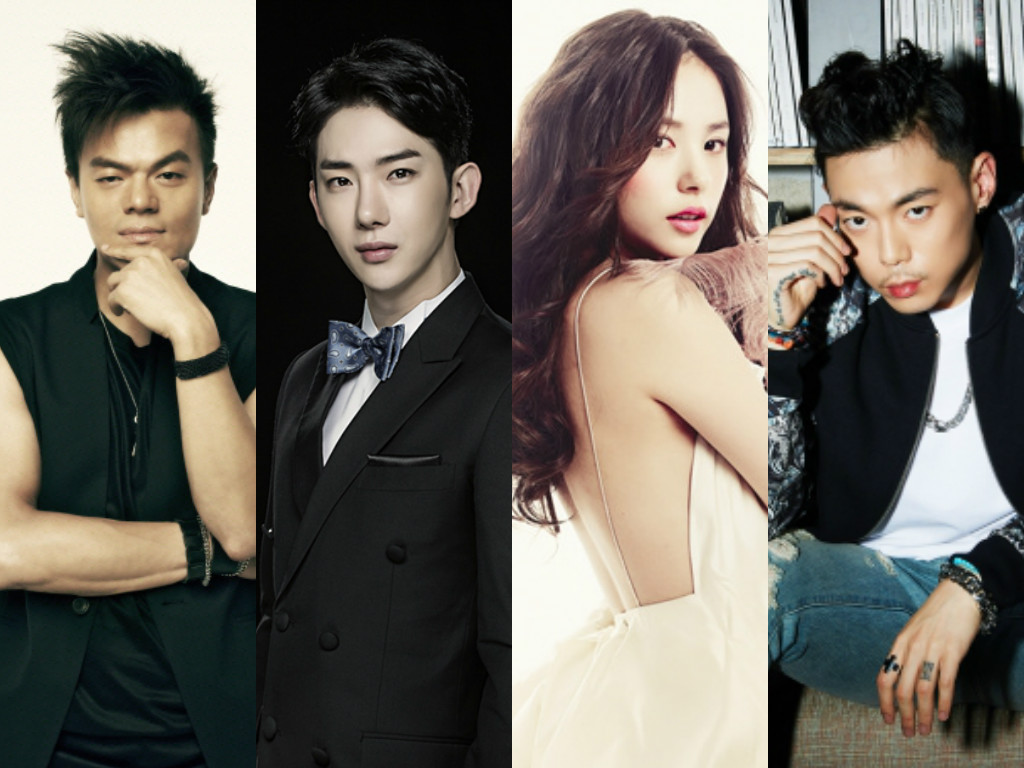 """Radio Star"" To Host A JYP Entertainment Special With Park Jin Young, Jo Kwon, Min Hyo Rin, And G.Soul"