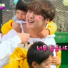 """WINNER Are Totally Tired Out By Children On """"Half-Moon Friends"""""""