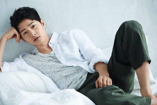 Song Joong Ki Rocks Casual Looks For Top Ten