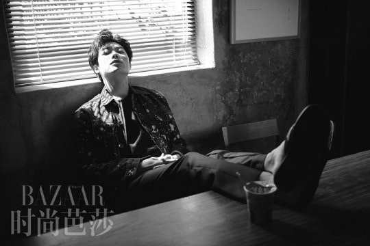 Ryu Jun Yeol Is A Brooding Star For Harper's Bazaar China