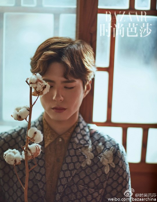 Park Bo Gum Is Picturesque For Harper's Bazaar China