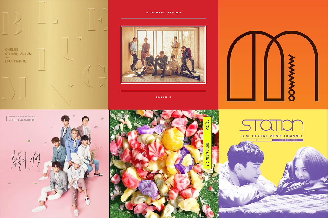 Weekly K-Pop Music Chart 2016 – April Week 5