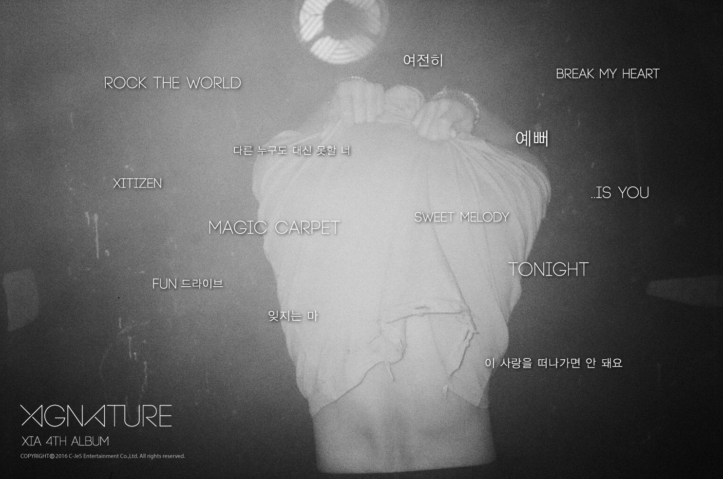 JYJ Junsu tracklist