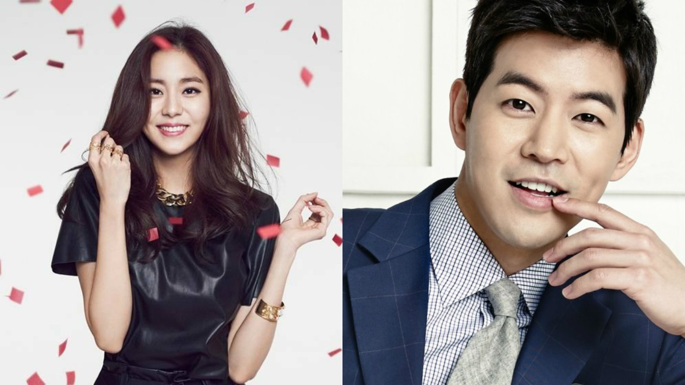 After School's Uee In A Relationship With Actor Lee Sang Yoon