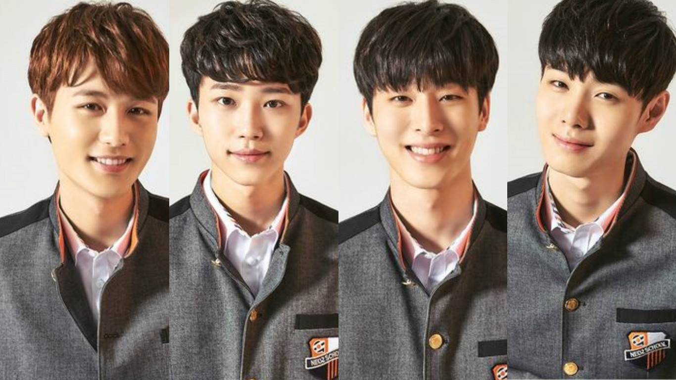 "FNC Reveals 4 Trainees In NEOZ BAND For Competition Show ""D.O.B"""