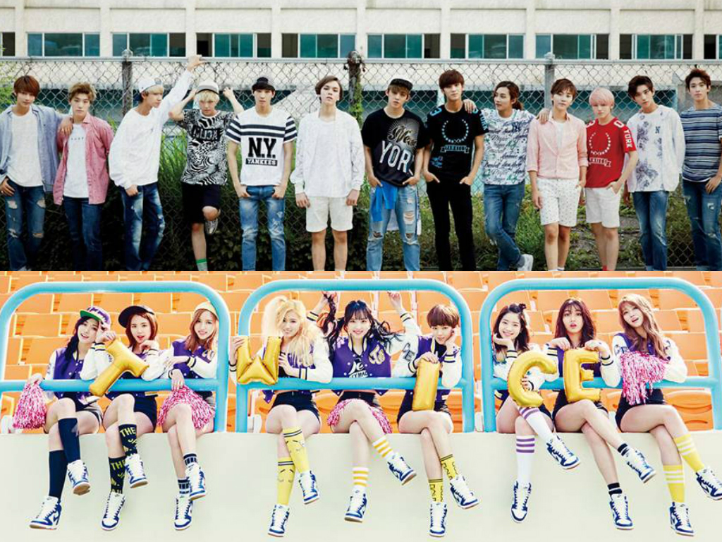SEVENTEEN and TWICE Break Into Billboards Top 10 World Albums Chart