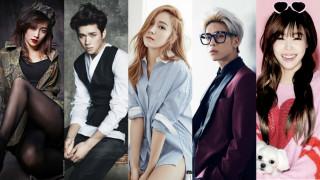 Nicole INFINITE Woohyun Jessica SHINee Jonghyun Girls' Generation Tiffany