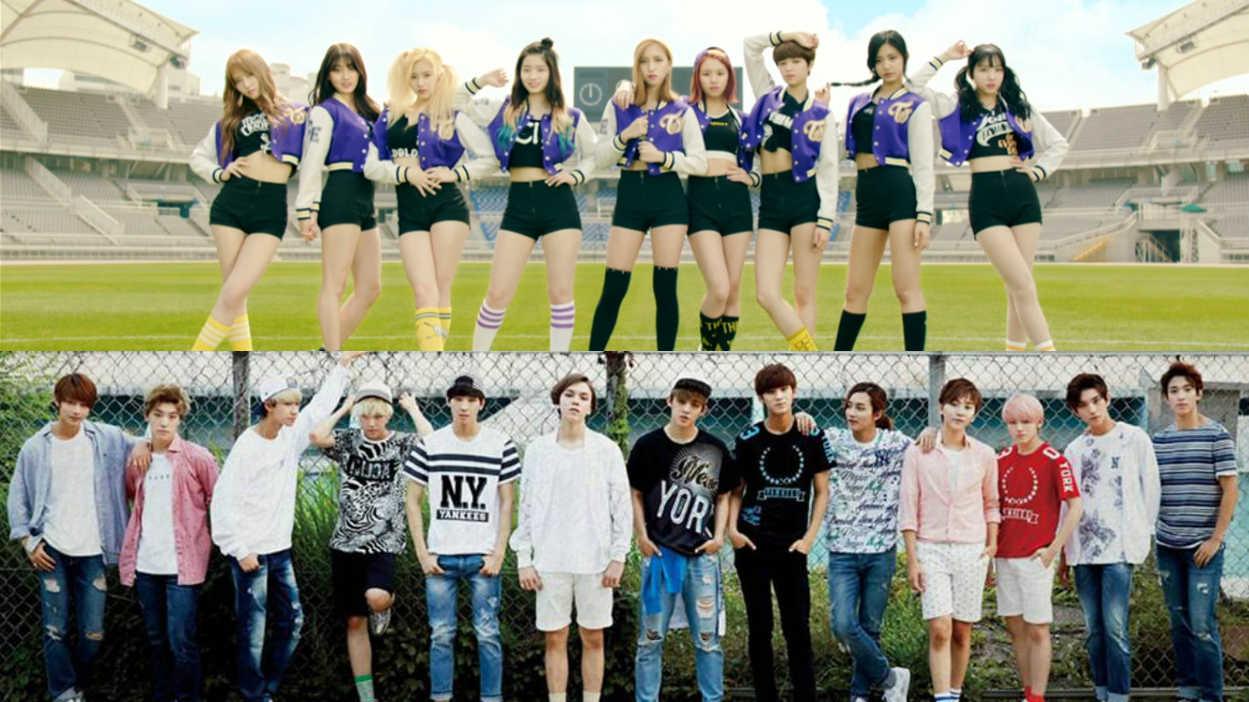 TWICE And SEVENTEEN Top Gaon Charts With New Releases