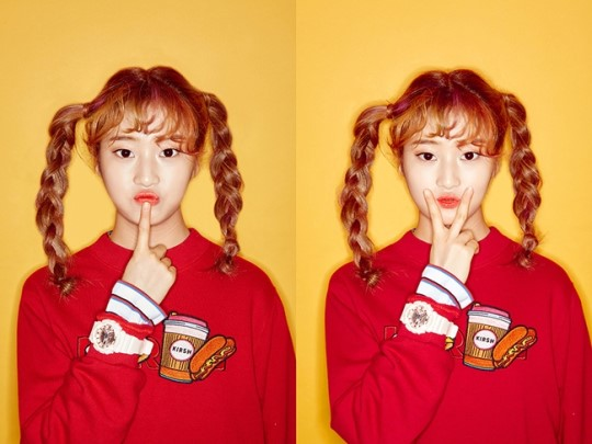 """Produce 101″ Contestant Han Hyeri Becomes A Cosmetic Model"