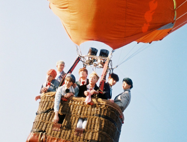 BTSs Jin Displays Which Member Was Most Scared During Their Hot Air Balloon Shoot
