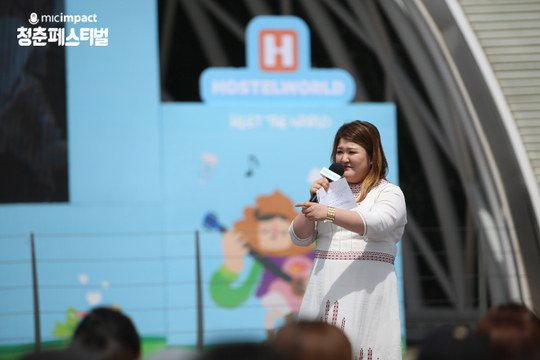 Comedian Lee Guk Joo Shares Personal Hardship and Life Advice At Adolescents Festival