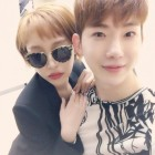 """Adam Couple"" Reunites As Gain Supports Jo Kwon At His Musical"