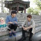 "Watch: Kim Min Suk and INFINITE's L Go On A Spring Adventure On ""Celebrity Bromance"""